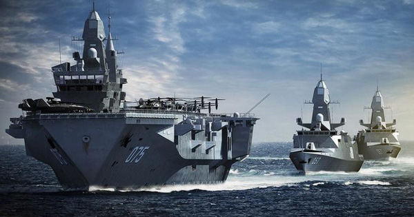 Hải quân Nga nâng cao sức mạnh bằng tàu đổ bộ tấn công cỡ lớn của… Trung Quốc?