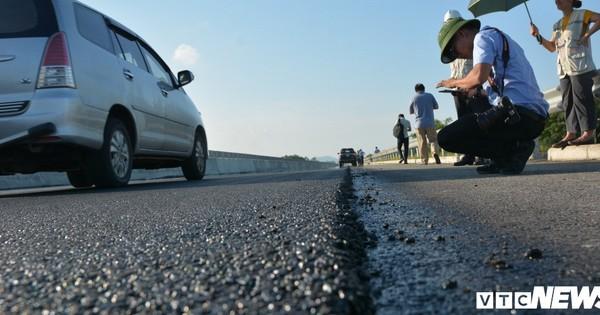 Sửa chữa cao tốc Đà Nẵng-Quảng Ngãi: Kết luận của tổ kiểm tra Bộ Giao thông Vận tải