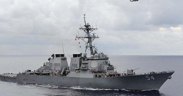 """Tàu chiến Mỹ qua eo biển Đài Loan """"khủng"""" cỡ nào khiến TQ án binh bất động?"""