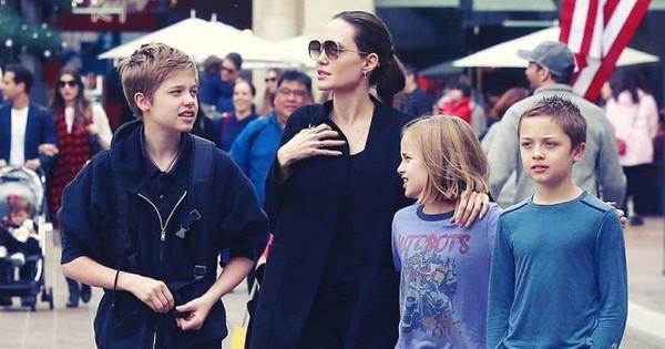 """Angelina Jolie đưa con ruột đi chơi sau khi tố chồng cũ từng """"ghét bỏ"""" Pax Thiên                                                                                                                                                               C"""