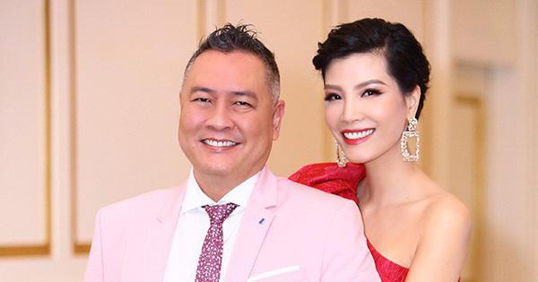 Lần hiếm hoi siêu mẫu Vũ Cẩm Nhung khoe ông xã doanh nhân                                                                                                                                                               Vũ Cẩm Nhung đang có một gia đình đầy h