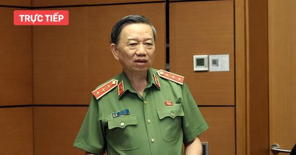 [CẬP NHẬT] Bộ trưởng Tô Lâm: Chưa thu hồi được tài sản của đối tượng mang theo khi trốn ra nước ngoài