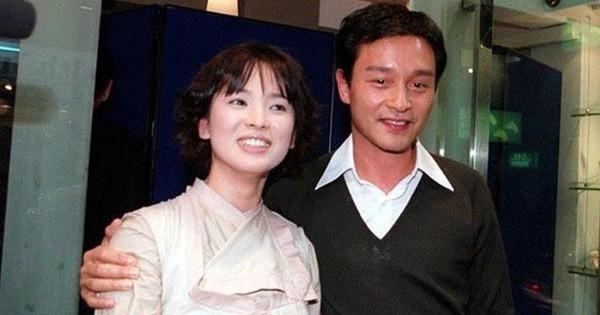 Loạt ảnh đáng giá ngàn vàng của sao Hoa ngữ ngày xưa: Không ngờ Song Hye Kyo là fan ruột của Trương Quốc Vinh