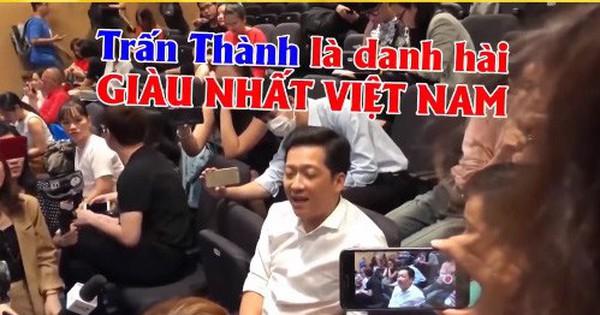 """Trường Giang: """"Trấn Thành là danh hài giàu nhất Việt Nam"""""""