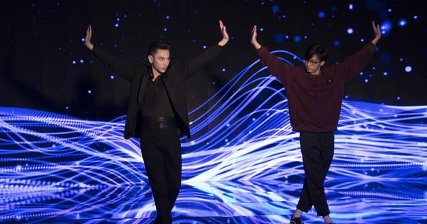 Isaac chăm chỉ tập luyện vũ đạo