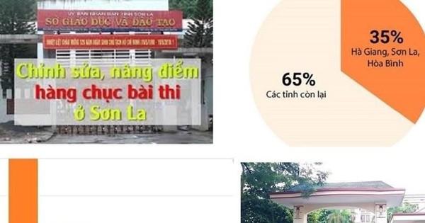 """Các trường Đại học chuẩn bị """"xử lý"""" các thí sinh đỗ điểm cao ở Sơn La"""