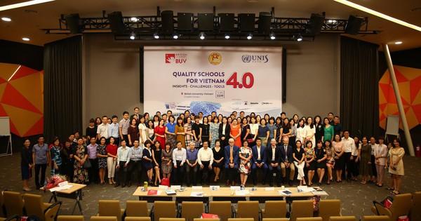 """Đại học Anh Quốc Việt Nam (BUV) tổ chức hội thảo """"Trường học Chất lượng cao trong thời đại 4.0"""""""