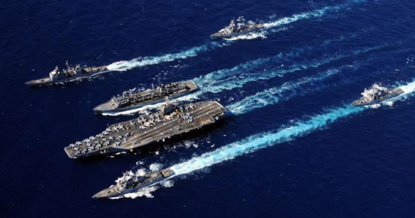 Cụm tác chiến tàu sân bay Mỹ đủ sức tiêu diệt không quân Iran hay chỉ là