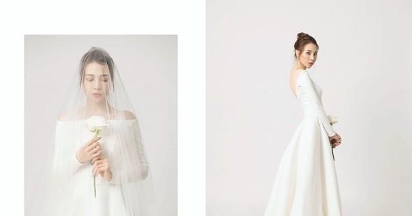 Đàm Thu Trang tung ảnh cưới đơn giản nhưng vẫn xinh đẹp yêu kiều