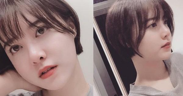 """""""Nàng Cỏ"""" Goo Hye Sun cắt tóc ngắn, nhan sắc ngày càng xinh đẹp, trẻ trung                                                                                                                                                               Nhan sắc của Goo Hye S"""
