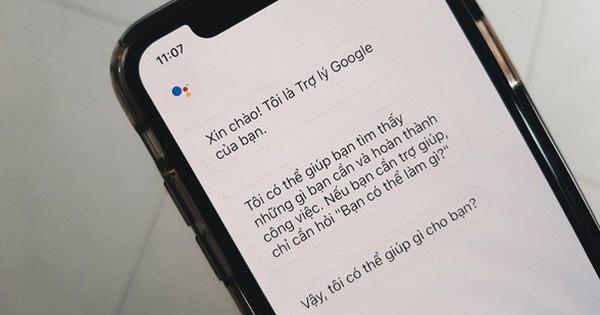 Người dùng iPhone Việt Nam đã được tải về Google Assistant
