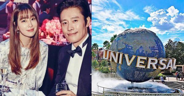Sang Mỹ chơi, vợ chồng Lee Byung Hun và mỹ nhân