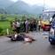 Xe máy đấu đầu xe buýt, 2 anh em ruột thương vong