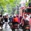 Xóm trọ ở Đê La Thành bất ngờ bùng cháy trở lại