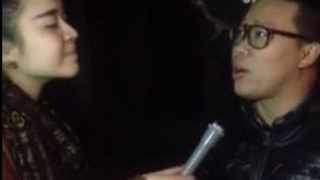 Vũ Hạnh Nguyên và thanh niên trẻ chửi tục trong clip phỏng vấn
