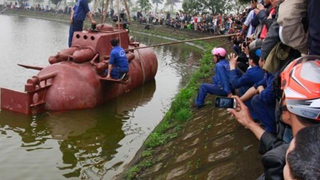 Vì sao Bộ KH&CN không cấp phép thử nghiệm tàu ngầm Trường Sa?