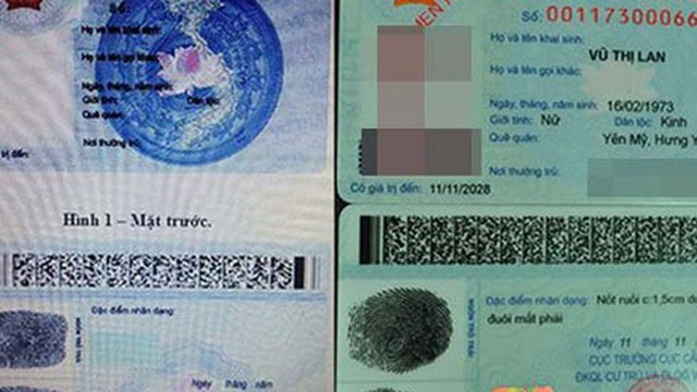 Thủ tục đổi chứng minh nhân dân sang thẻ Căn cước công dân