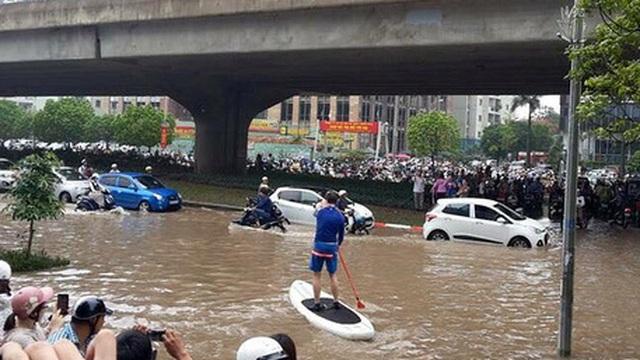 PGĐ Sở Xây dựng lý giải nguyên nhân ngập nặng ở Hà Nội