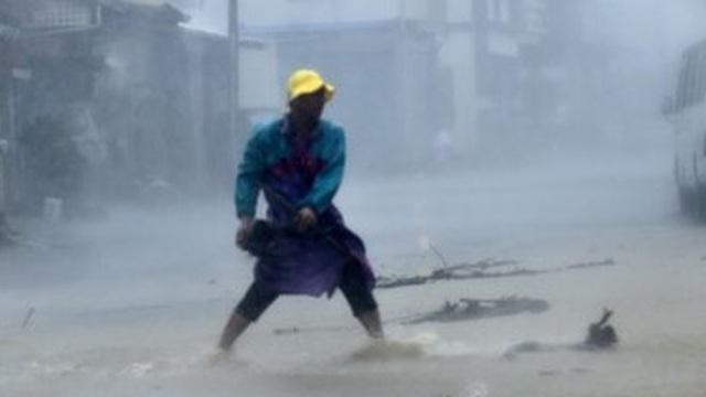 Siêu bão Meranti mạnh nhất thế giới tàn phá Đài Loan, Trung Quốc