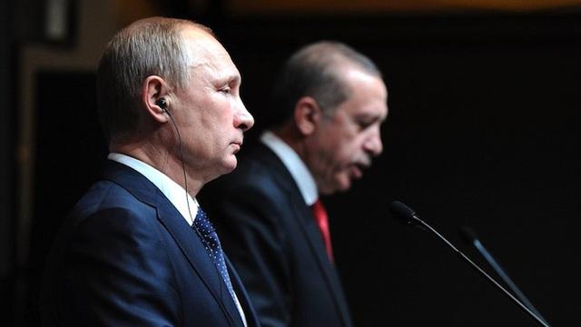Nga - Thổ: Nổi sóng dữ phía sau quan hệ nồng ấm