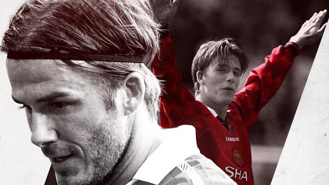 Hẹn với định mệnh: David Beckham - huyền thoại được vẽ nên bởi đôi giày đi mượn