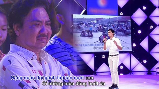 """Trấn Thành khóc khi chứng kiến cuộc sống khốn khó của diễn viên """"Biệt động Sài Gòn"""""""