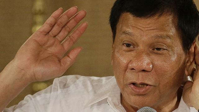 Tổng thống Philippines Duterte: Tôi sẽ ra lệnh bắn con tôi nếu nó buôn ma túy