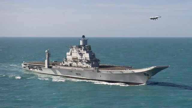 Tường tận sức mạnh tàu sân bay chủ lực của Hải quân Ấn Độ