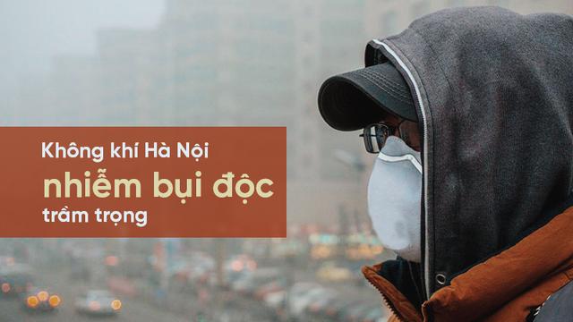 Ông chủ Facebook đeo khẩu trang và cảnh báo của GS.TS Nguyễn Hữu Ninh về không khí Hà Nội