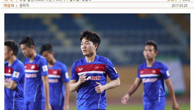 """ĐT Việt Nam nhạt nhòa, Xuân Trường vẫn được Gangwon FC đưa lên """"mây xanh"""""""