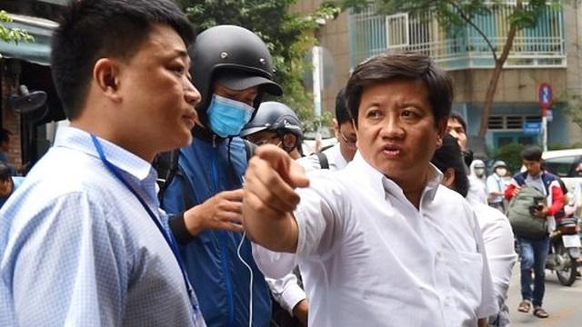 Ông Đoàn Ngọc Hải yêu cầu chặn xe của tài xế định bỏ chạy