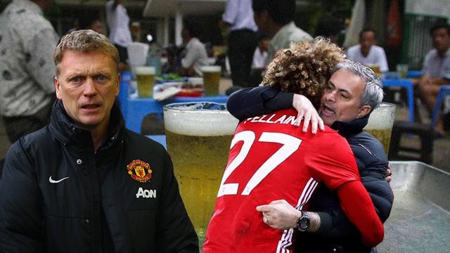 Trong tình yêu với Mata và Fellaini, hãy khâm phục Mourinho và biết ơn David Moyes