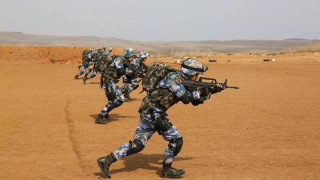 """""""Nhanh chân"""" tập trận trước quân đội Nhật ở Djibouti 3 ngày, Trung Quốc có dụng ý gì?"""