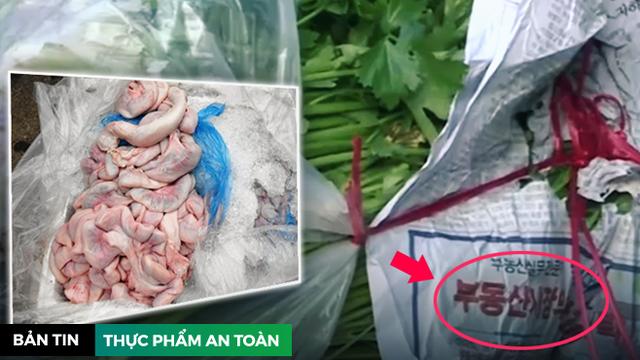 Lòng lợn khuấy đảo Hà Nội - Phú Yên, rau Trung Quốc tấn công ồ ạt