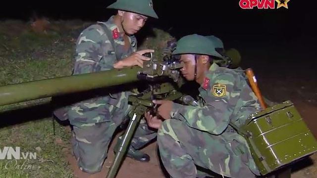 Hỏa lực Bộ binh huấn luyện các tình huống ban đêm
