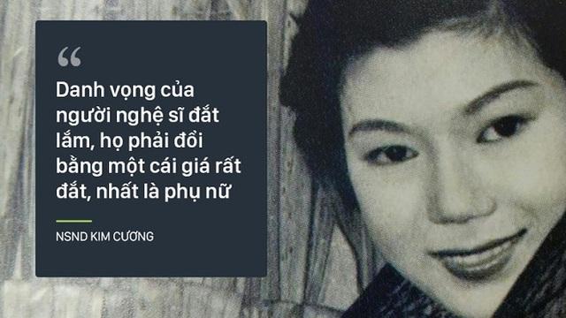 Bi kịch cuộc đời NSND Kim Cương: Cha bị đuổi không cho chết trong rạp hát, uất ức khi con trai bị bắt cóc