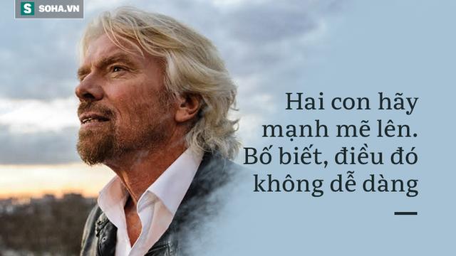 Hành động nhỏ của cậu con trai hơn 10 tuổi khiến tỷ phú Richard Branson suýt khóc