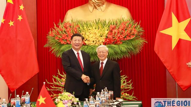 Báo chí Trung Quốc đưa tin đậm nét về chuyến thăm Việt Nam của Chủ tịch Tập Cận Bình