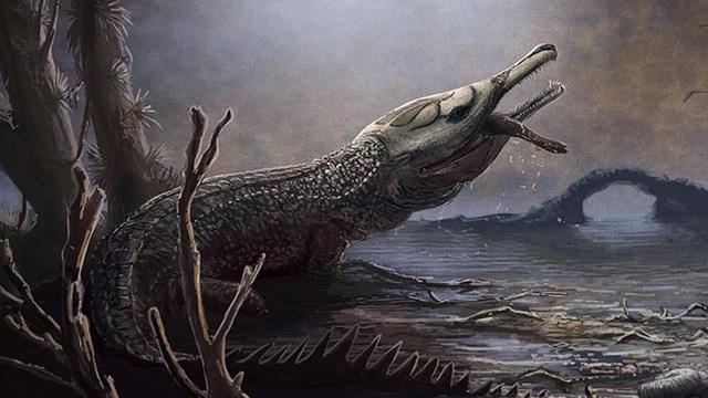 """""""Quái vật đại dương"""" kỷ Jura: Chỉ há miệng đã có thể nghiền nát rùa biển"""