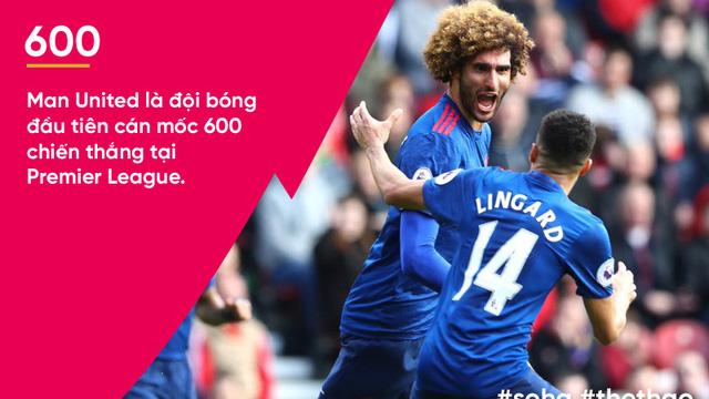 """Con số biết nói: 1 kỷ lục vĩ đại và 3 cú """"khai hỏa"""" lạ lùng của Man United"""