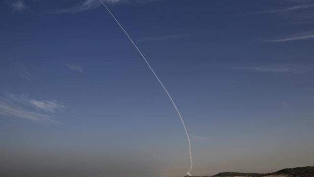 """Israel kích hoạt hệ thống phòng thủ tên lửa như trong """"Star Wars"""""""