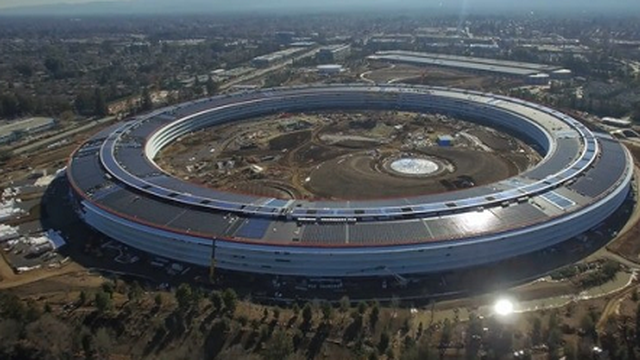 Choáng ngợp với trụ sở mới của Apple