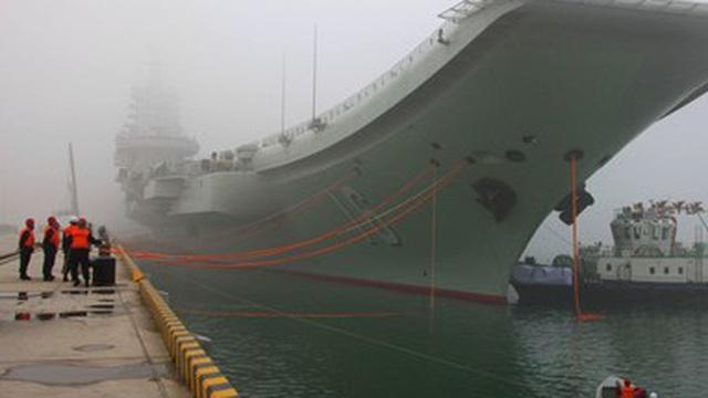 Lộ thời điểm Trung Quốc hạ thủy tàu sân bay thứ hai