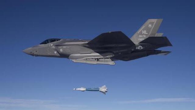 F-35B nã đạn thị uy khi THAAD chưa sẵn sàng