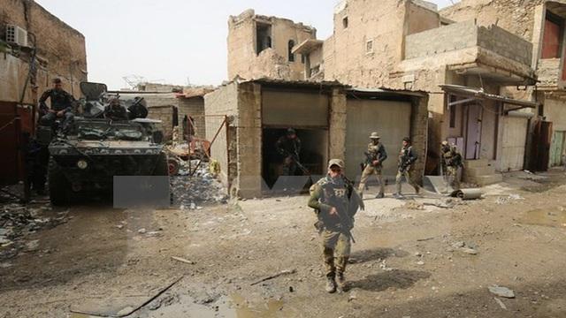 Hơn 280 nhân viên an ninh Iraq thiệt mạng ở phía Tây Mosul