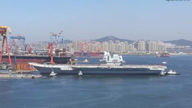 Tàu sân bay mới của Trung Quốc thua công nghệ tàu Mỹ vài thập kỷ