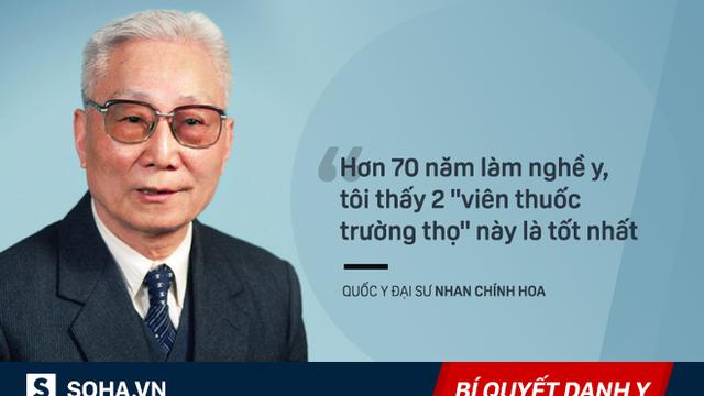 """Hai viên """"thuốc trường thọ"""" của giáo sư Đông y 97 tuổi, chính bạn cũng có thể tự chế được!"""