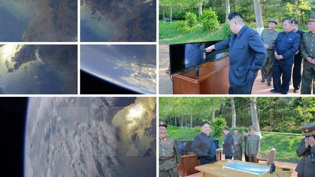 Ông Kim Jong Un giám sát thử tên lửa khi tàu Mỹ-Nhật đã rời đi