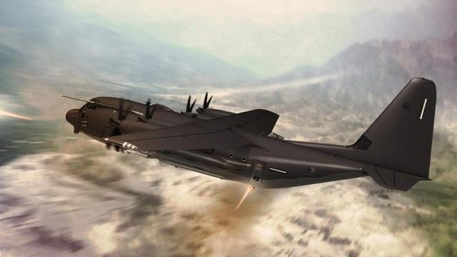 """Mỹ vừa tung ra """"bóng ma đêm vũ trang tận răng"""" C-130J: Hung thần trên không"""
