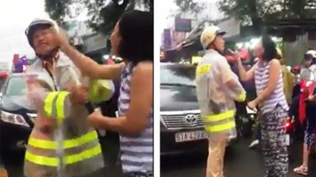 Luật sư lên tiếng vụ nữ tài xế lăng mạ, túm áo CSGT